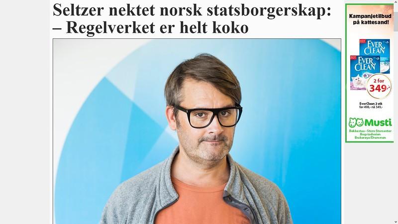 ikke norsk statsborger hm