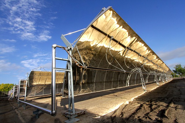 Concentrated solar in Medicine Hat, Alberta