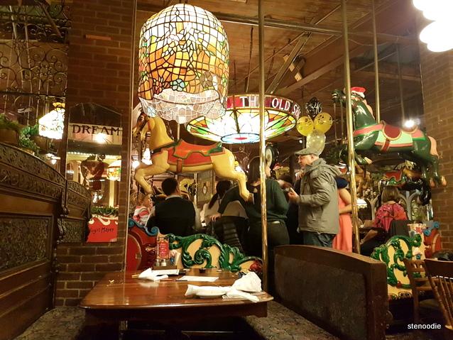 The Old Spaghetti Factory decor