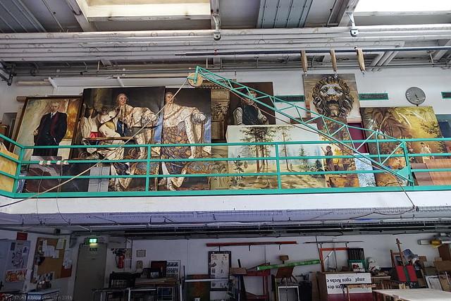 Mainfrankentheater Malerwerkstatt