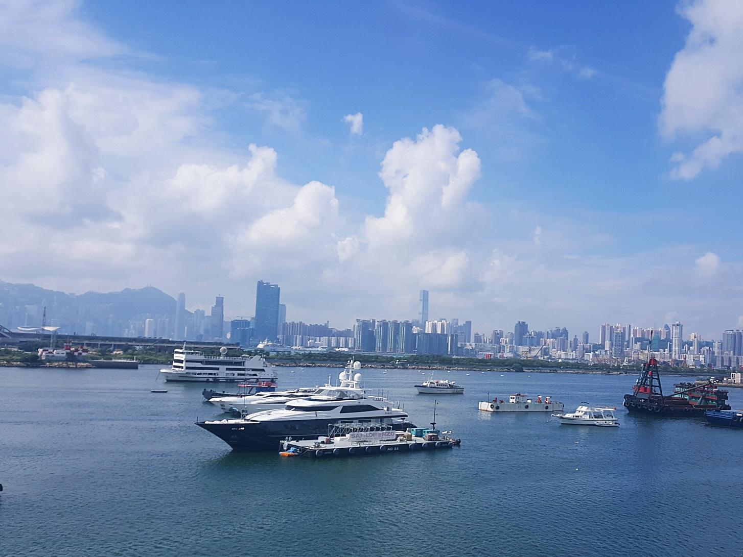 Hong Kong yachts