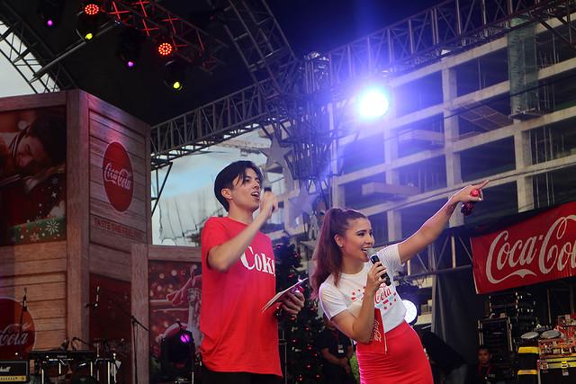 Coke Cola Tagahatid Pasko Christmas Concert LA Aguinaldo Model