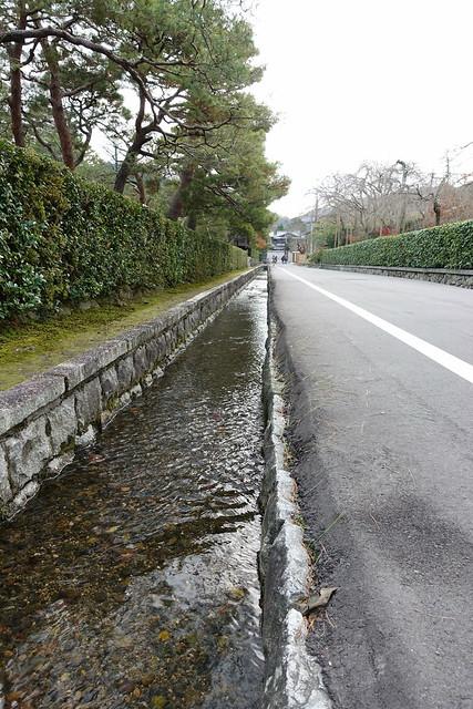 Nanzenji street water