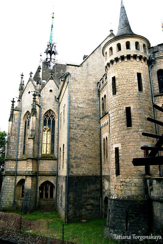 Вид на часовню замка