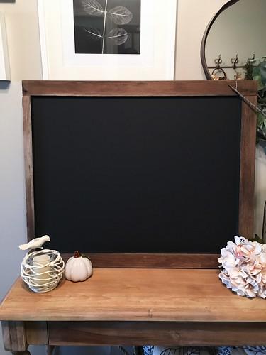 DIY chalkboard| www.graceinmyspace.com
