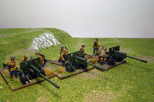 Bolt Action - Soviet ZIS3 Battery
