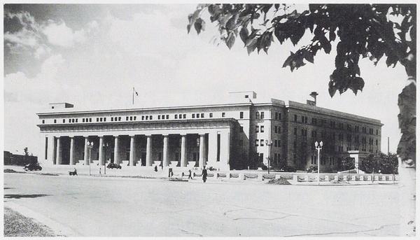 满洲中央银行外部,30-40年代