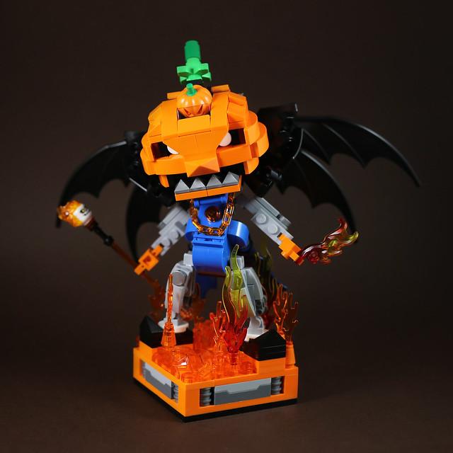 Pumpkin mech-1 Halloween