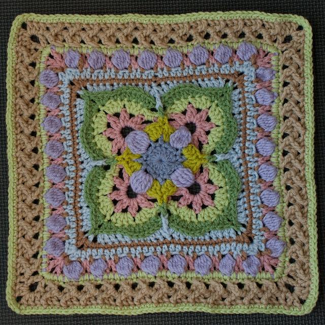 """Ilsa"" Crochet Block"
