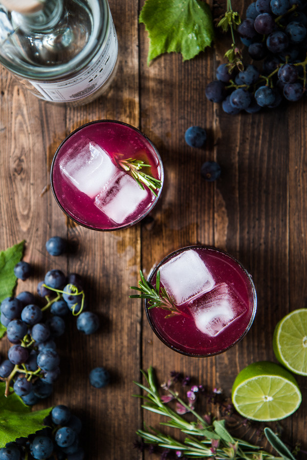 Concord Crush Cocktail   Will Cook For Friends
