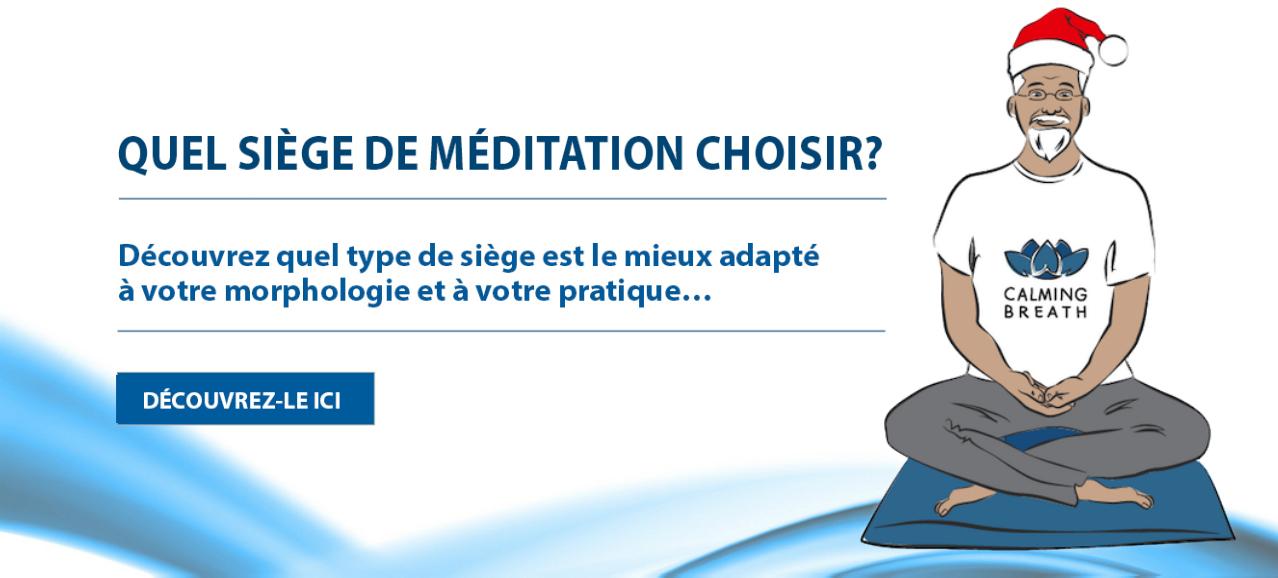Meditation seat guide