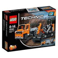 LEGO Technic 42060 Roadwork Crew 1