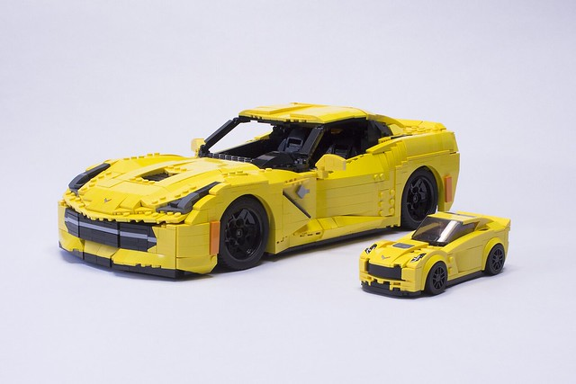 2015 Stingray Corvette Z51 with Lego's Speed Champions Z06