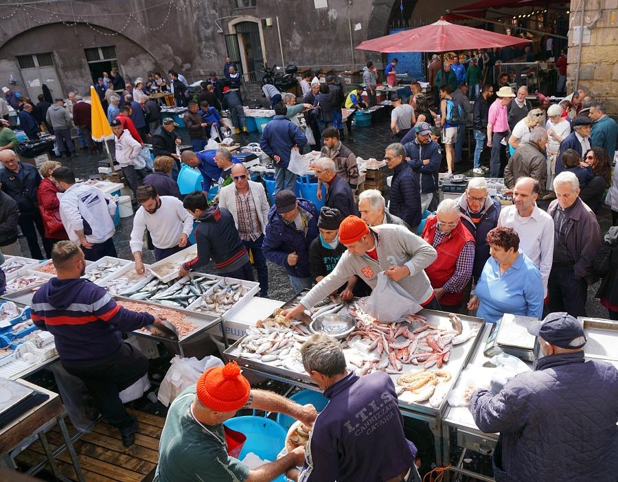 Catania's Fish Market