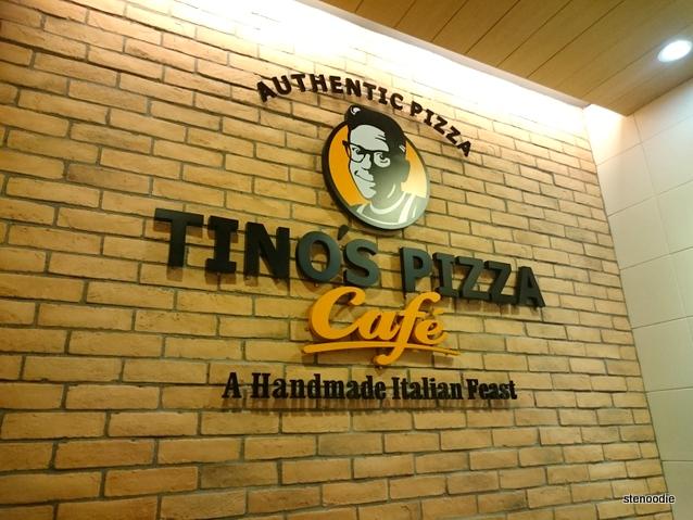 Tino's Pizza Café logo