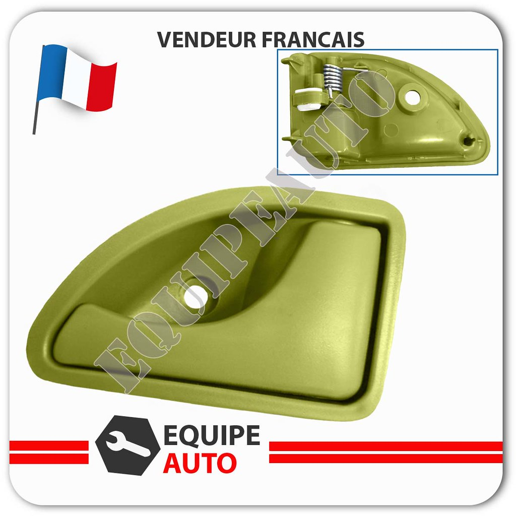 poign e porte int rieure verte avant droite renault twingo kangoo 8200259377 ebay. Black Bedroom Furniture Sets. Home Design Ideas