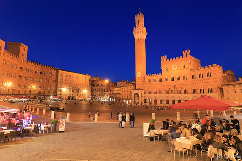 Piazza del Campo at Night