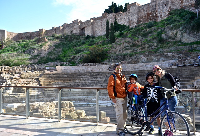 alcazada - Bike City Tour of Malaga, Costa Del Sol