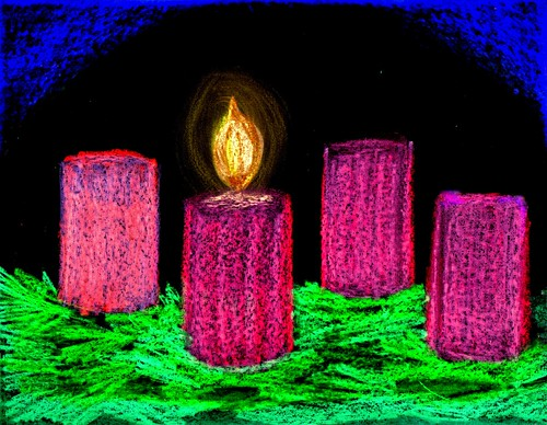 Advent Candles Week 1