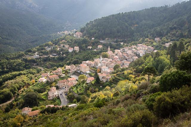 Corsican town