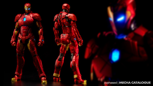 Sen-Ti-Nel - RE:EDIT IRON MAN Shape Changing Armor