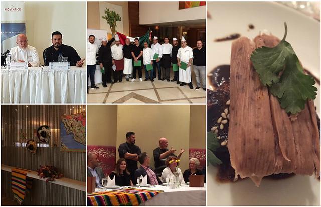 Lanzamiento del Festival de Cocina Mexicana en el Hotel Mövenpick