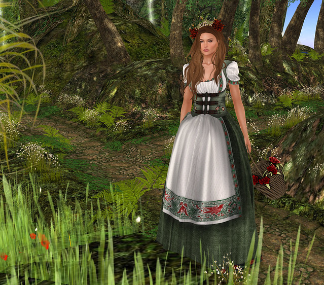 The Woodcutters Daughter Dirndl Dress, SMD