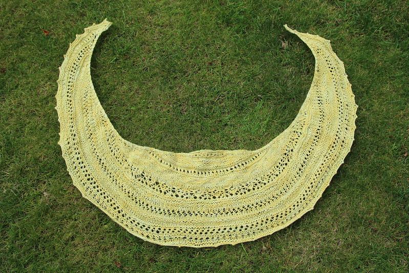 Lionberry shawl