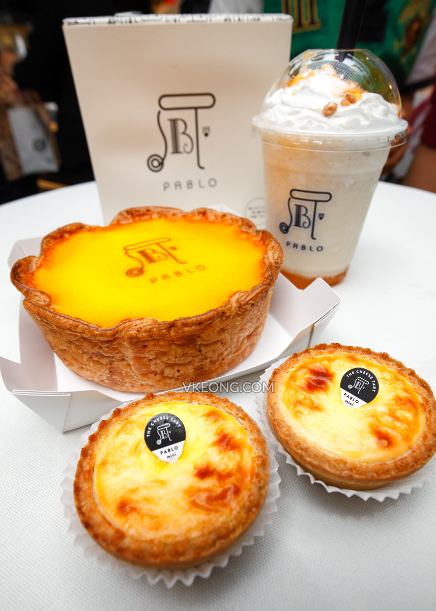 Pablo Cheese Tart 1 Utama Best Food Network Sabrel Matcha Tarts