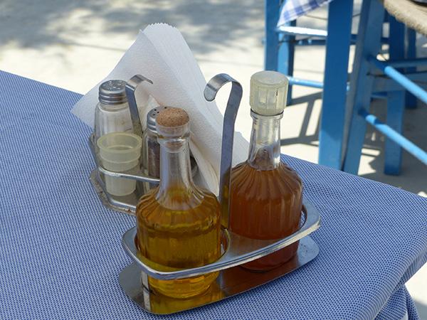 huile et vinaigre