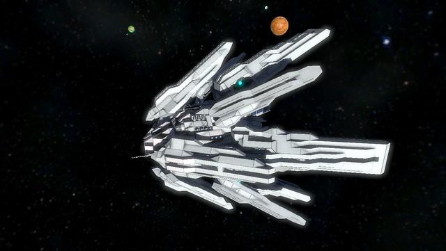 우주 엔지니어 - 화이트 스타
