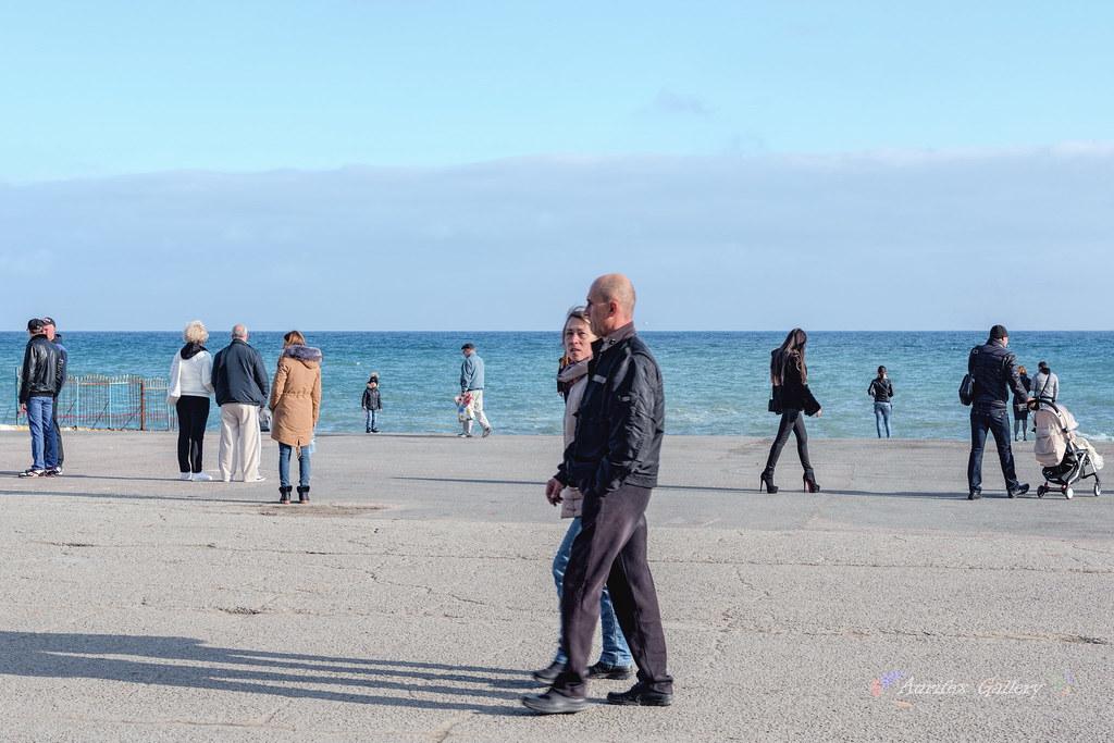 Seafront in November