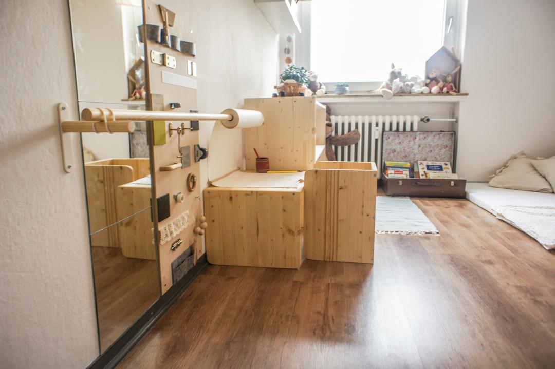 pokój dla dziecka w stylu Montessori