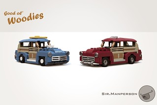 Woodies - 6-wide - Lego