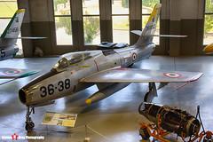 MM53-6892 35-38 - - Italian Air Force - Republic F-84F Thunderstreak - Italian Air Force Museum Vigna di Valle, Italy - 160614 - Steven Gray - IMG_1012_HDR
