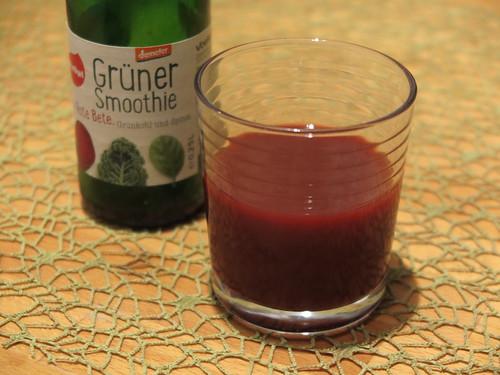 Smoothie mit Rote Bete, Grünkohl und Spinat