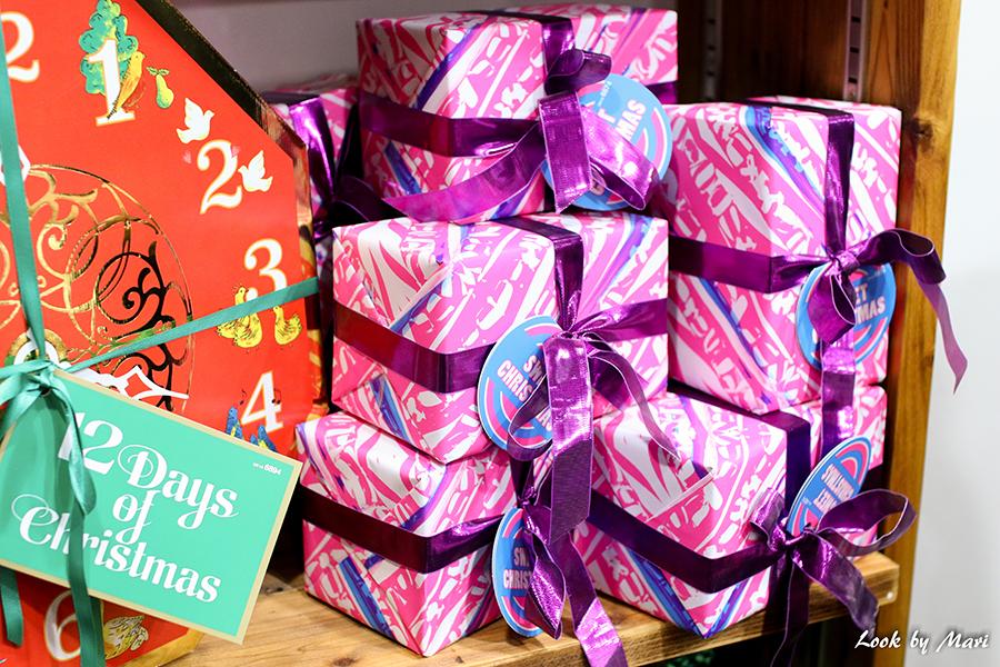 5 Lush christmas presents
