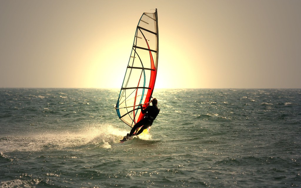 Awesome Things to do in Tunisia #2: Windsurfing