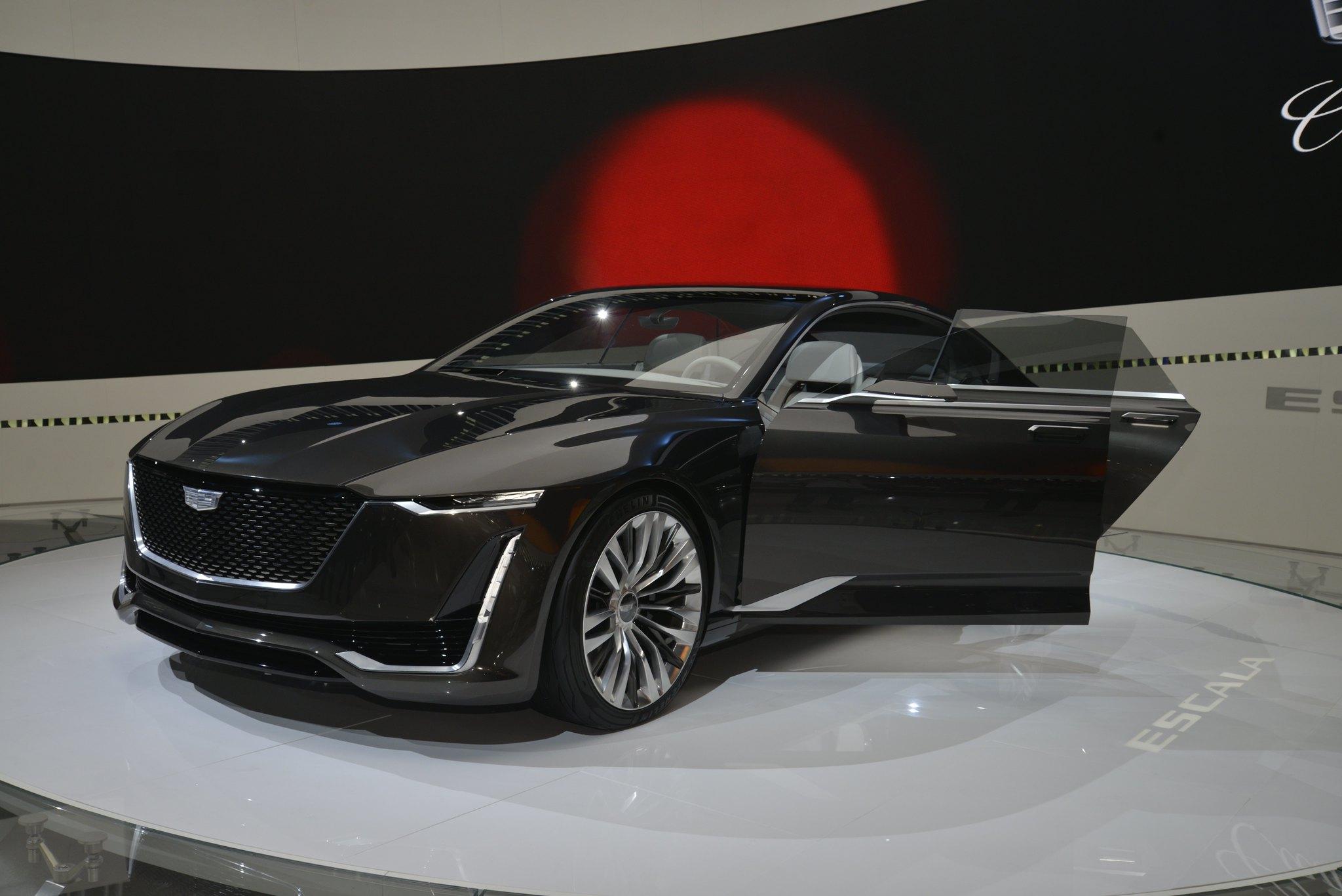 Cadillac Escala Concept live photos: 2016 LA Auto Show