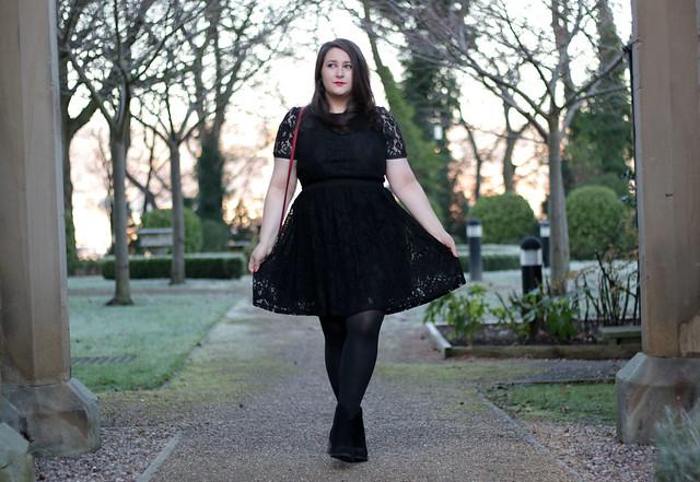 HOF Black Dress