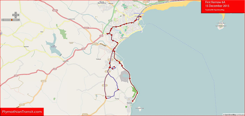 2015 12 12 First South West 6A Traveline Map.jpg