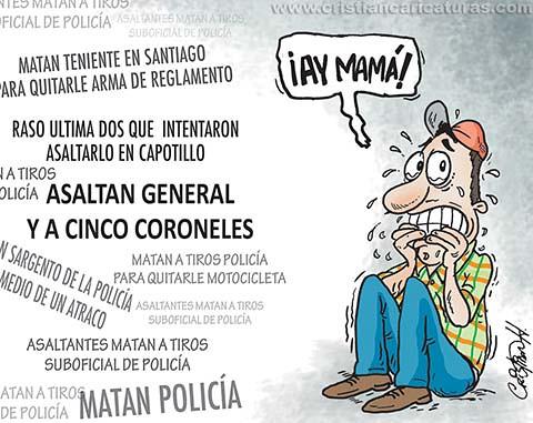 A los policías