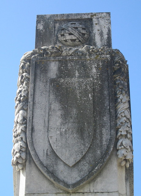 Porto War Memorial Third Cartouche