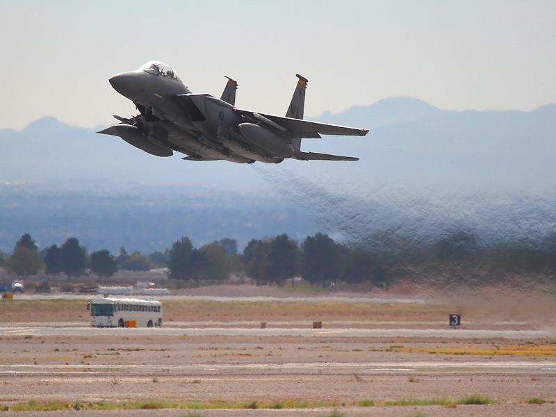 IMG_4706 F-15E Taking Off