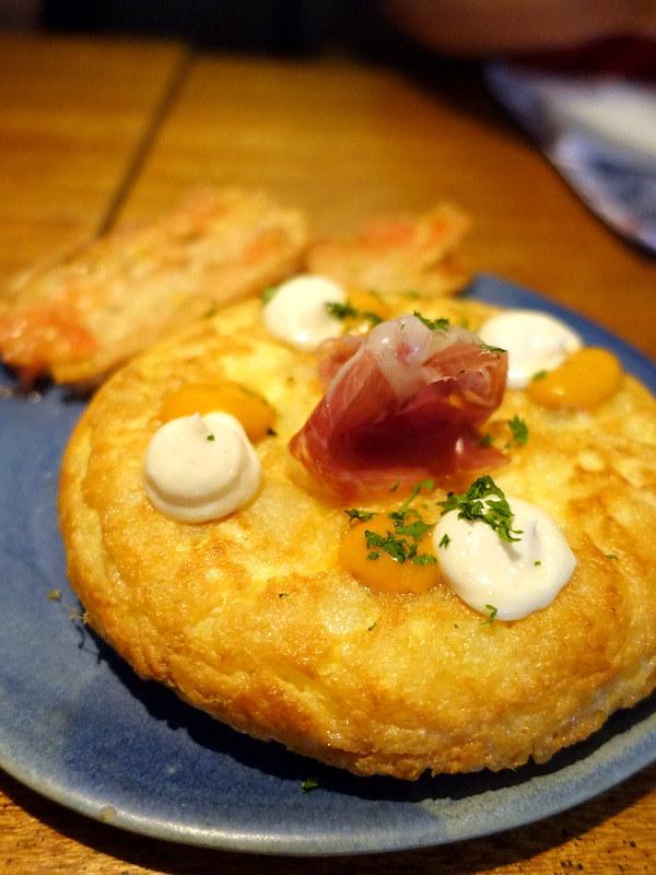 Rambla Rockwell- Tortilla Española con Jamon Iberico