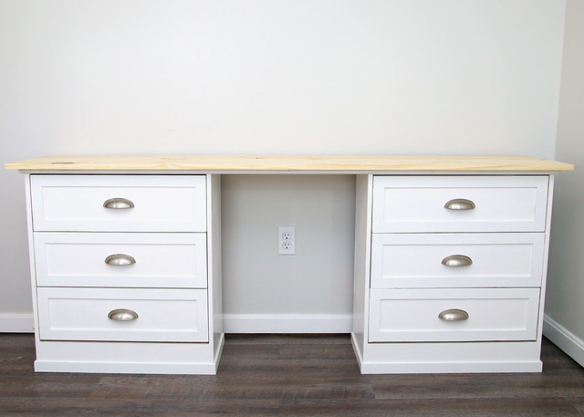 Two Dressers One Desk