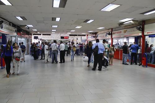 RECORRIDO TERMINALES,CONFERRY,CONVIASA