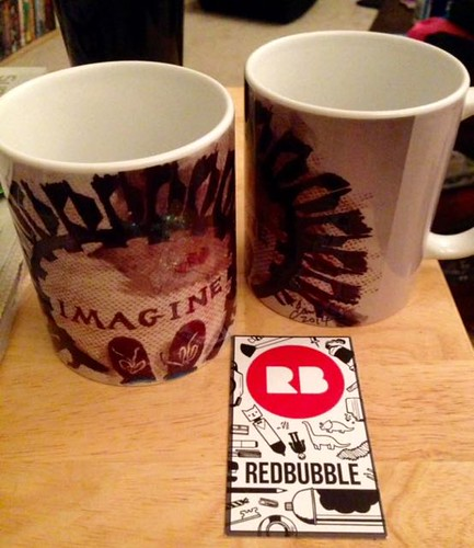 Redbubble Imagine mugs