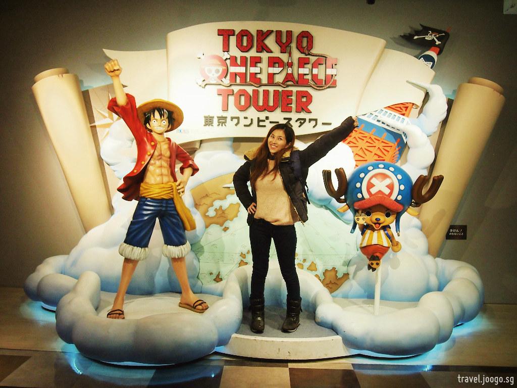 Tokyo Tower - One Piece 1 - travel.joogo.sg