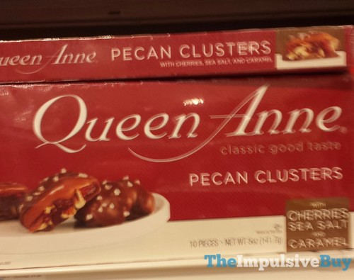 Queen Anne Pecan Clusters with Cherries, Sea Salt, and Caramel | by ...